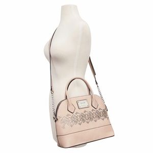 🆕✅ NWT Nicole Miller Mary Kate pink/blush satchel